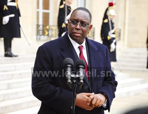 Macky SALL à PARIS : « La réduction de mon mandat se fera par référendum ou par vote parlementaire »