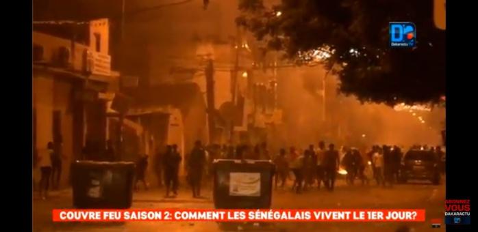 Médina : Des pneus brûlés, des populations défiant les autorités se révoltent contre le couvre-feu
