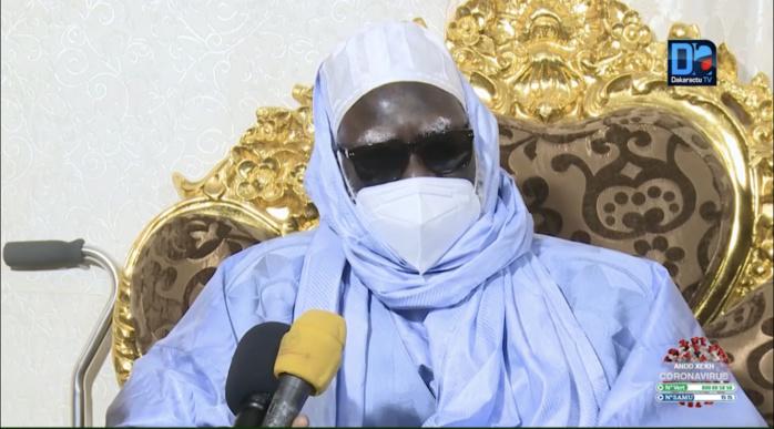 TOUBA - Le Khalife Général  des Mourides suspend ziars et visites pour 2 semaines.