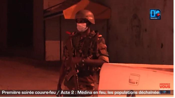 Violation du couvre-feu : l'armée en renfort dans certains quartiers de Dakar