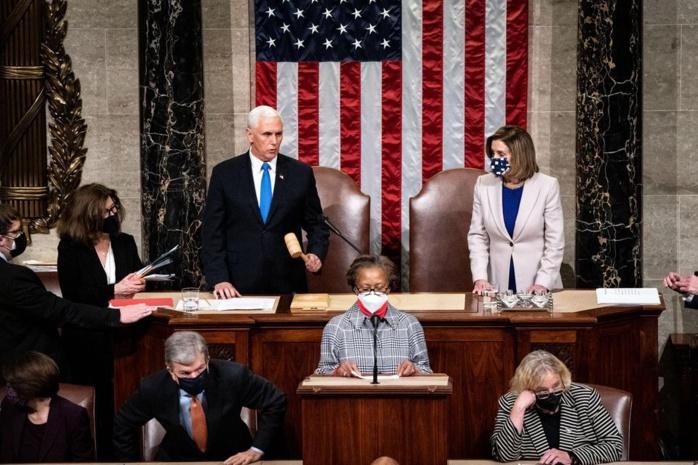 Le Congrès américain certifie la victoire de Joe Biden à l'élection présidentielle.