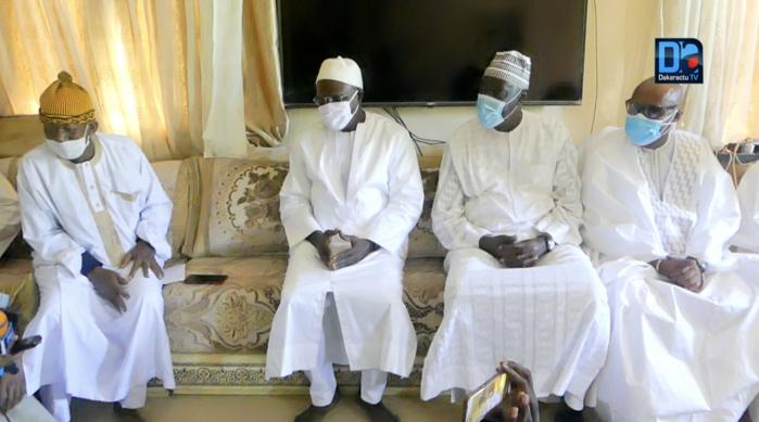 Décès de Seyda Mariama Niass : Khalifa Sall a présenté ses condoléances au Khalife général de Médina Baye.