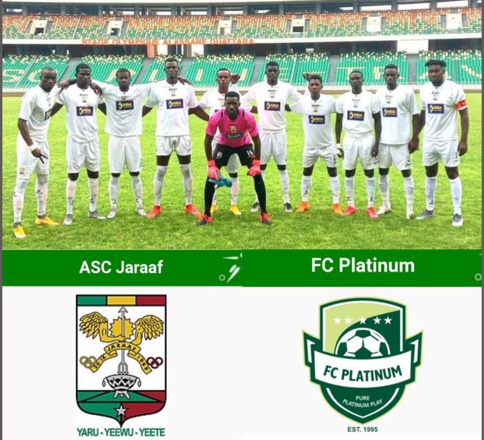 Barrages / Coupe CAF : Le Jaraaf affrontera le FC Platinum entre le 14 et 21 février.