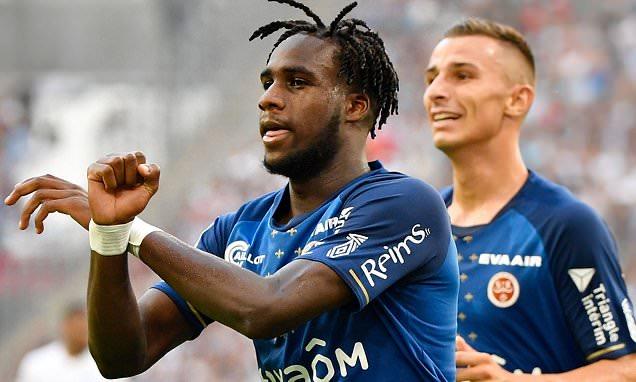 Ligue1 / Reims : Auteur d'un doublé contre Saint-Étienne, Boulaye Dia sur le podium des buteurs.