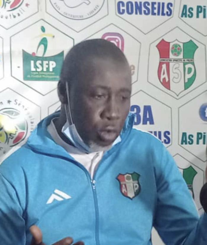 Massamba Cissé (Entraîneur AS Pikine) : « L'équipe a fait preuve de caractère contre Gorée »