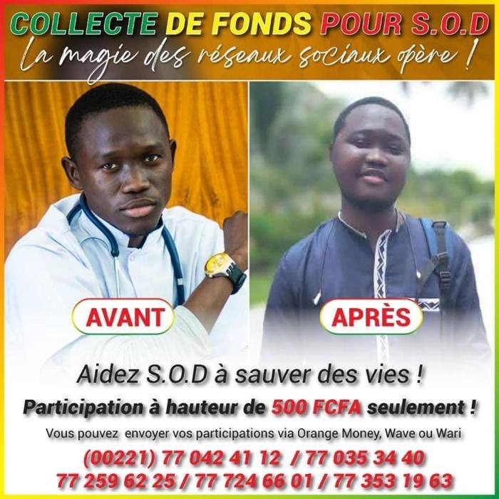 Santé : L'étudiant SOD entièrement pris en charge par le Président Macky Sall.