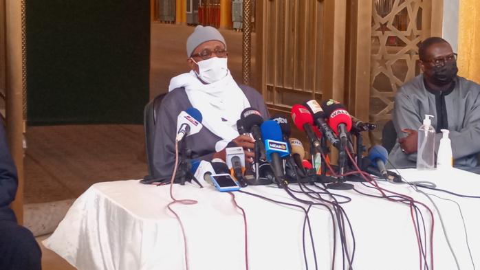 Massalikoul Jinaan : Mbackiyou Faye transmet les nouvelles recommandations du Khalife aux fidèles.