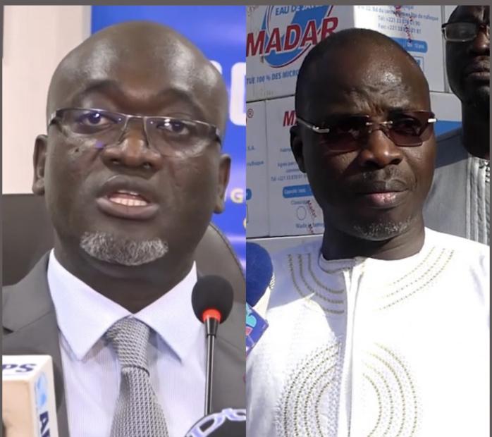 Campagne de distribution de masques : Pape Demba Bitèye et Mohamed Ndiaye Rahma, répondent favorablement à l'appel du comité régional de gestion des épidémies.
