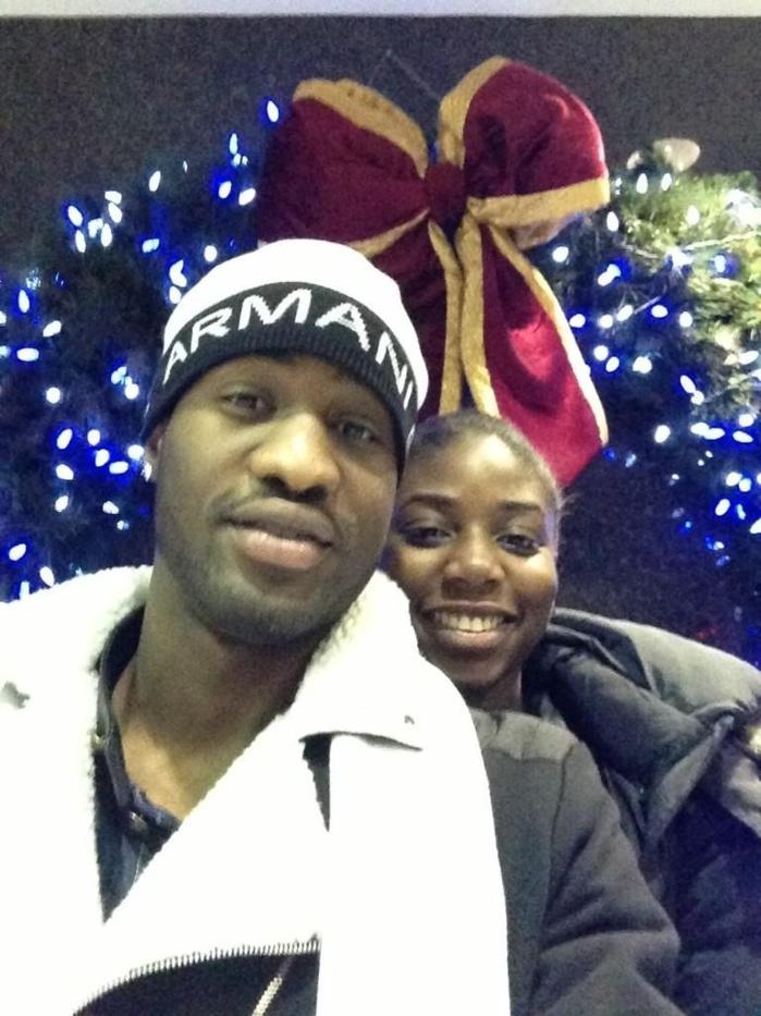 Les images du couple Dame Amar et Ndeye Sokhna Ndour, la fille de Youssou Ndour (Champagne à gogo)