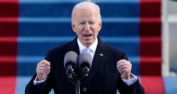 Joe Biden aux Américains après son investiture : «Nous avons cette occasion unique de nous unir, d'agir différemment et nous projeter de l'avant»