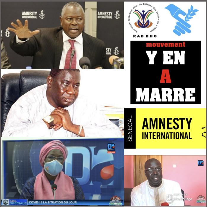 Arrestation de Boubacar Sèye : Société civile et droits de l'hommiste, signent une déclaration commune et interpellent l'État sur la santé fragile du président de l'ONG HSF.