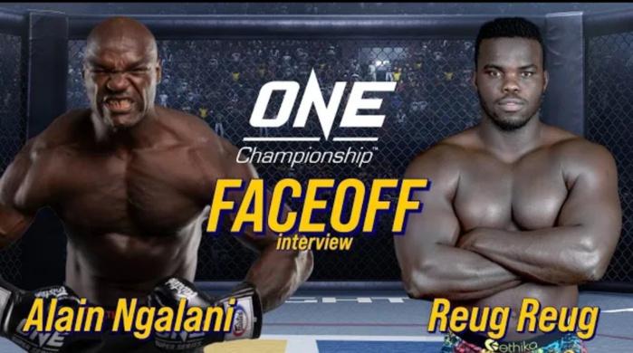 Face to Face / MMA Fighting : Reug-Reug et Alain Ngalani se sont « affrontés » à distance !