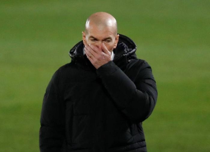 Réal Madrid ; Zinédine Zidane testé positif au coronavirus.
