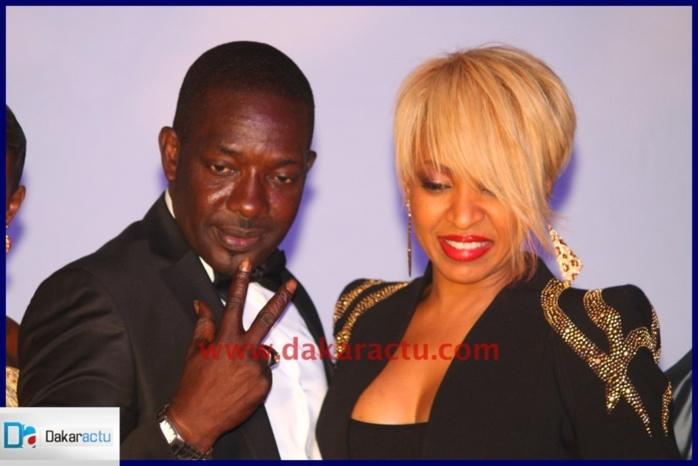 Viviane Chidid et Mbaye Dieye Faye à l'anniversaire de Oumou Sow