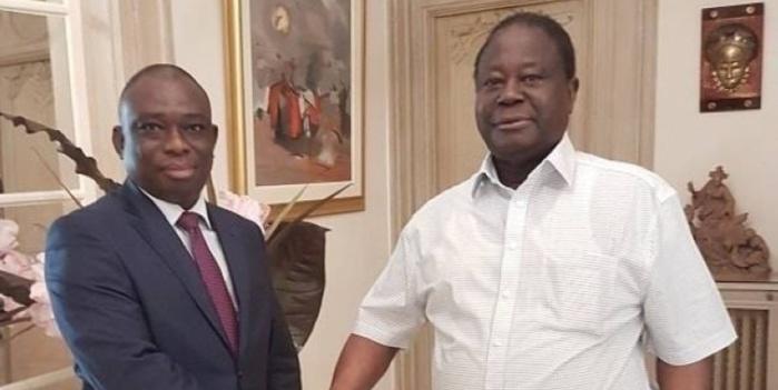 Côte d'Ivoire : Macky Sall joue les bons offices et réconcilie Bédié et Konan Kouadio Bertin