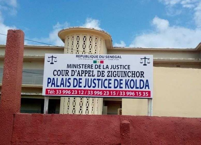 KOLDA : Les accusés du vol du coffre-fort de la douane devant la barre ce 29 janvier.