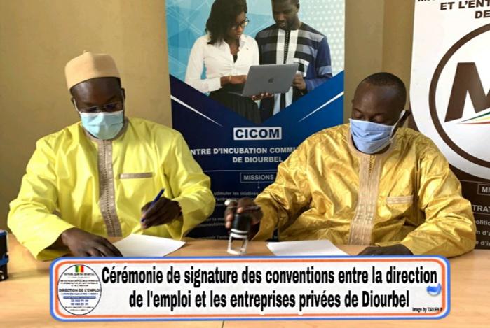 (PHOTOS) DIRECTION DE L'EMPLOI / Modou Fall signe 22 accords de partenariat avec des entreprises privées et vise à insérer 328 jeunes