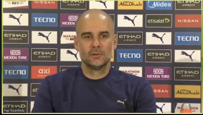 Chelsea : Guardiola se mêle du licenciement de Frank lampard.