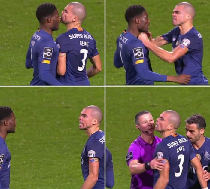 Primeira Liga / FC Porto : Le ton est monté entre Mamadou Loum Ndiaye et son capitaine Pepe...