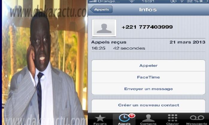 Après la parution d'un article le mettant en cause, Aliou Sall appelle l'administrateur de Dakaractu, l'insulte et lui profère des menaces...