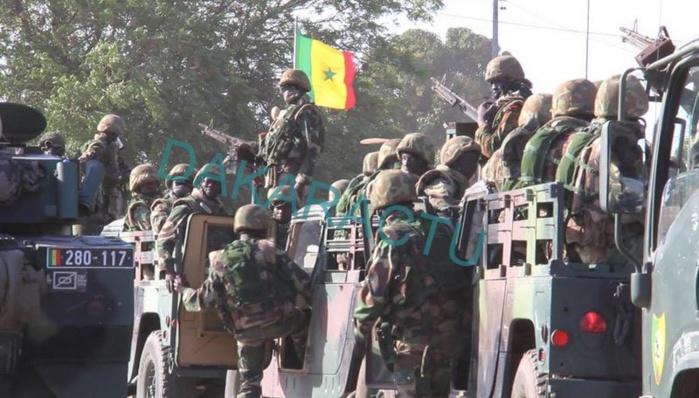 Casamance : L'armée pilonne la zone frontalière avec la Guinée-Bissau