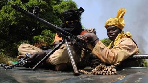 """Les rebelles """"aux portes de Bangui"""""""