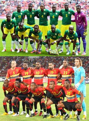 Sénégalais et Angolais font match nul (1-1) à Conakry