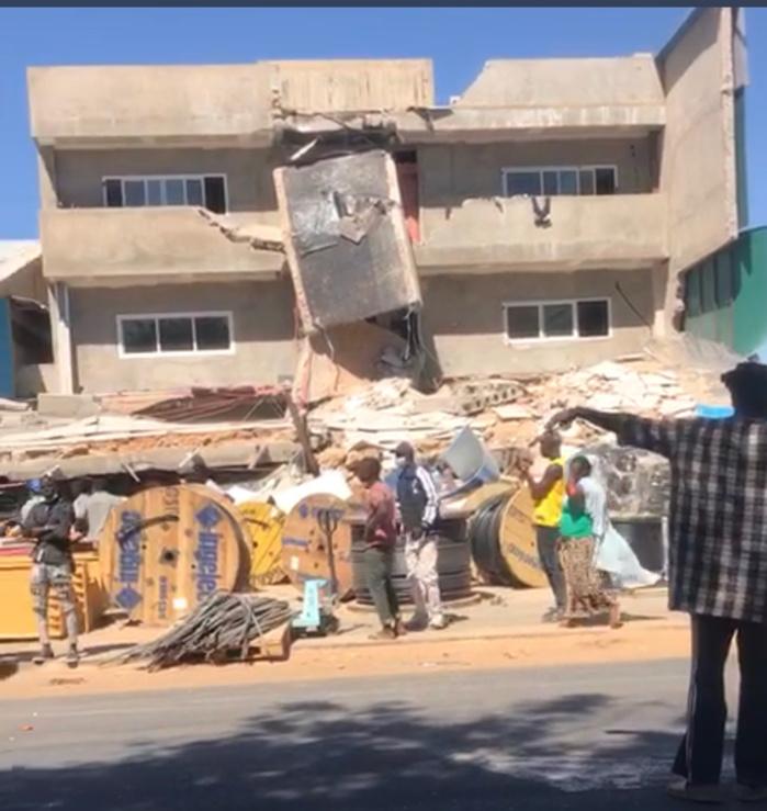 Effondrement Bâtiment R+3 à Khodoba / Bilan provisoire : Quatre morts et 3 blessés graves.