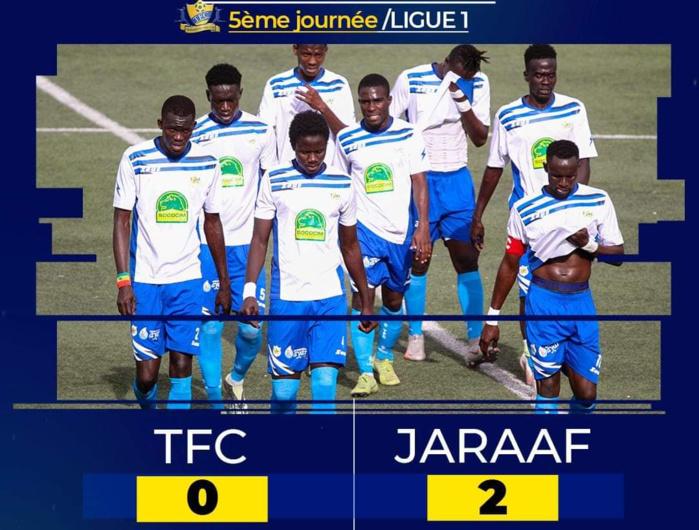 5e journée Ligue 1 : Le Jaraaf réalise l'exploit face à Teungueth FC battu 2-0 !
