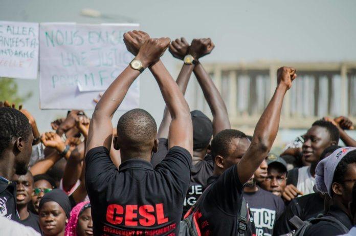 Affrontement à l'UGB : Le CESL accuse le directeur du CROUS et menace de poursuivre le combat.