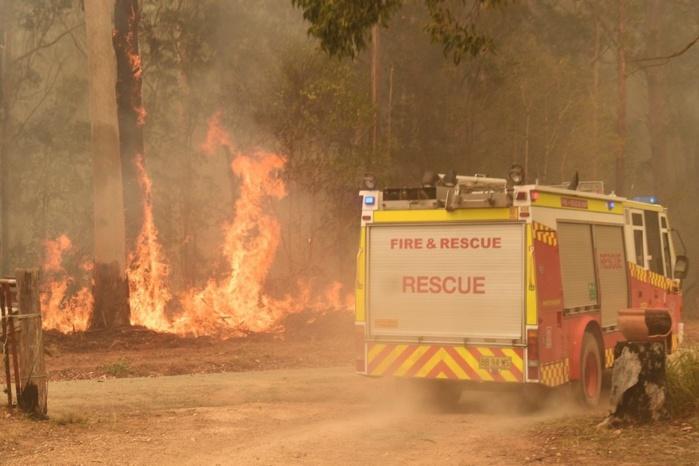 Environnement / Retour des incendies en Australie : Déjà plus de 71 maisons détruites.