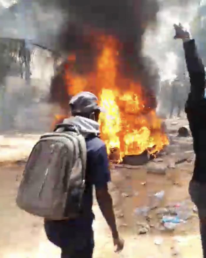 Affrontements entre partisans de Sonko et forces de l'ordre : Entre tirs de lacrymogènes, jets de pierres, plusieurs arrestations et dégâts matériels importants...