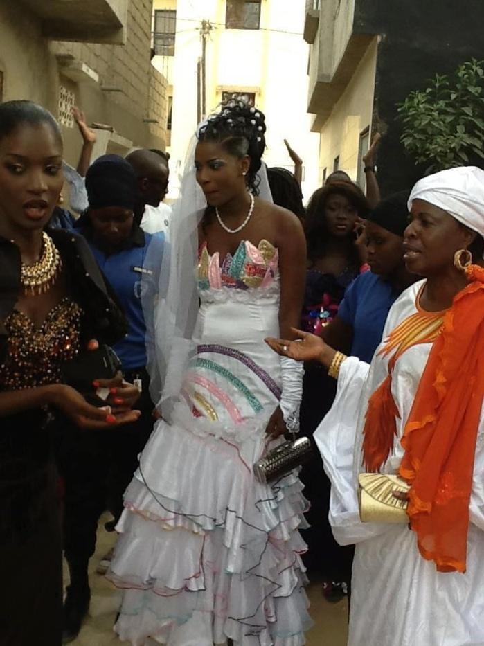 Le fils d'Ahmada Mbacké et de Sophia Thiam porte le nom de son arrière grand-père, Serigne Ousmane Mbacké Noreyni