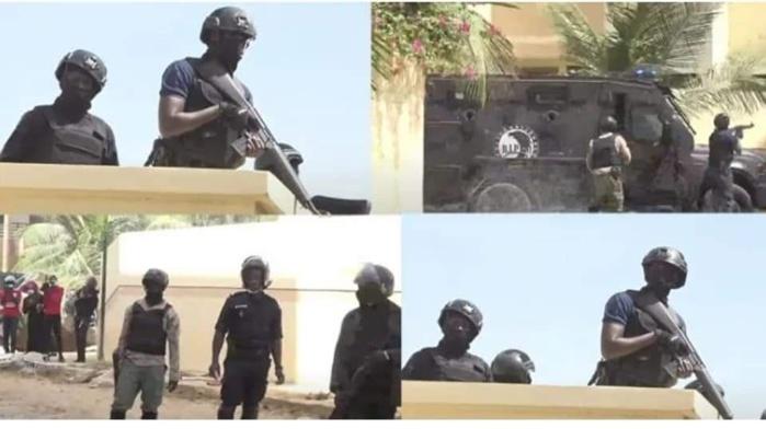 Manif des partisans de Sonko : La BIP entre en action et neutralise la situation, une deuxième voiture incendiée au siège du Prodac