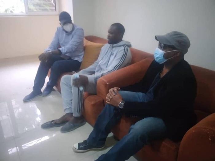 Accusation de viol : Khalifa Sall et Barthelemy Dias chez Ousmane Sonko.