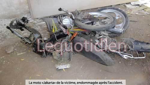 Accident de la circulation : Un enseignant mortellement broyé