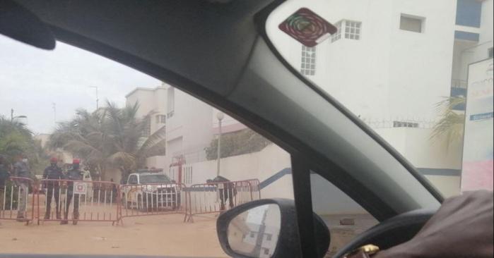 Lendemain de manif : le domicile de Sonko barricadé avec une forte présence policière