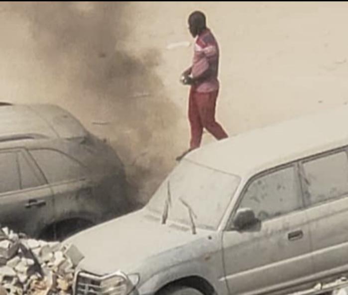 Affaire Sonko - Le pyromane identifié vers la Chambre Criminelle : il a mis le feu à plusieurs véhicules de particuliers et un de l'État...