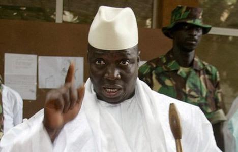 """Yahya Jammeh aux homosexuels: """"Si on vous attrape, vous êtes morts"""