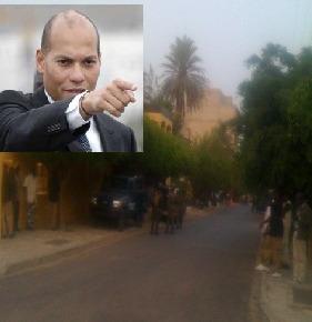 Comment Karim Wade s'est approprié une des deux villas collées à celle son père au Point E