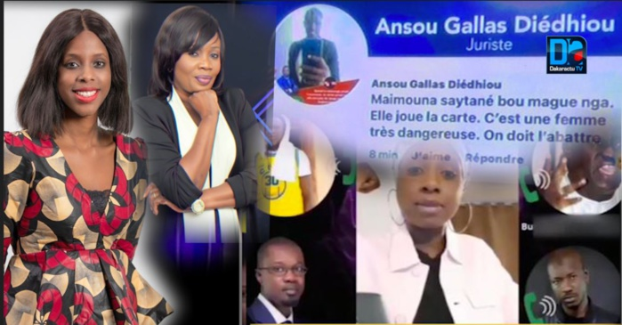 Affaire Sonko - « Sweet » et pas fin des menaces de mort :  Maïmouna Ndour Faye, Maty trois pommes et des personnalités du régime, elles aussi victimes...