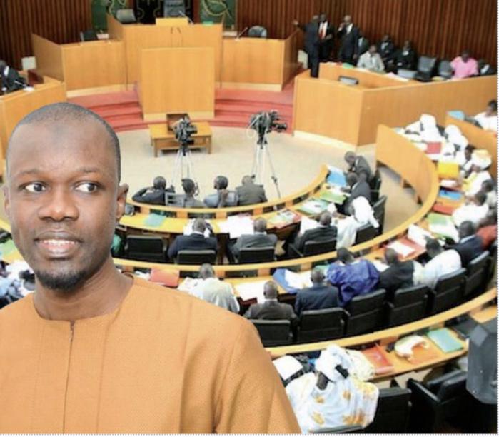 ASSEMBLÉE NATIONALE : Projet de résolution portant levée de l'immunité parlementaire du député Ousmane Sonko.
