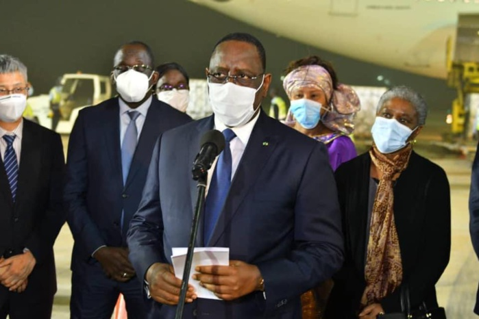 Spéculations autour du vaccin contre la Covid-19 : Le président Macky Sall rassure sur sa fiabilité et appelle les sénégalais à adhérer à la stratégie nationale de vaccination.