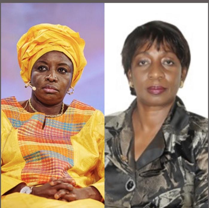 Décès de Marie Delphine Ndiaye Présidente de l'Ordre des Experts : c'est aussi une grande perte pour le leadership féminin Presidente  (Mimi Touré)