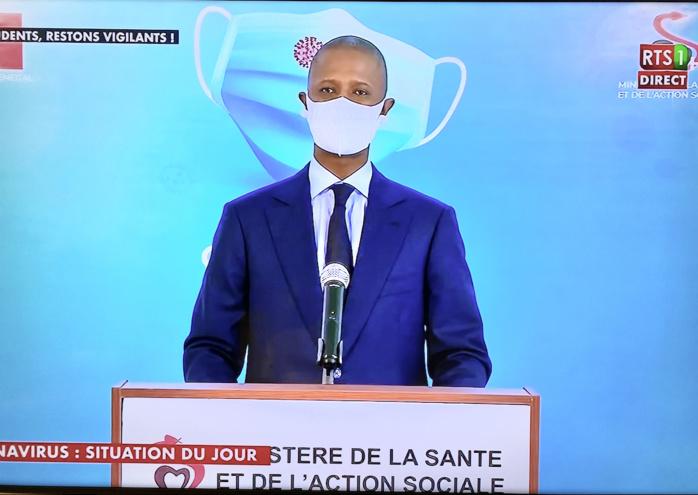 État de catastrophe sanitaire : le couvre-feu maintenu dans les régions de Thiès et Dakar jusqu'au 20 Mars. (Ministre de l'intérieur)