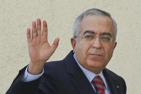 Démission du Premier ministre palestinien