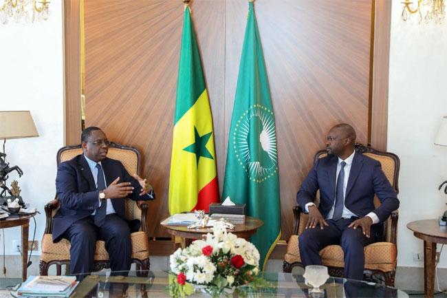 Macky Sall pour la première fois sur l'affaire Ousmane Sonko : « c'est une situation vraiment regrettable. Mais j'ai suffisamment de choses à faire plutôt que de comploter pour des choses aussi basses... »