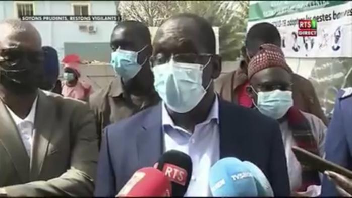 Abdoulaye Diouf Sarr : «Nous attendons des vaccins Sputnik V (...) Le président va se faire vacciner»