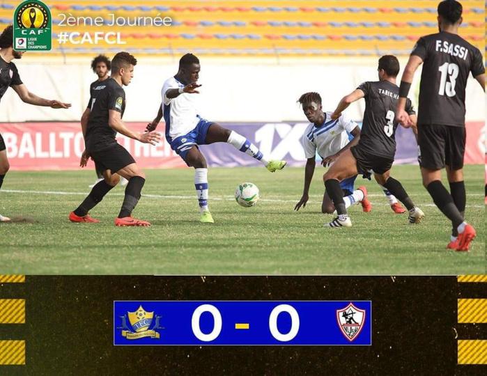 Ligue des Champions CAF / Groupe D : Teungueth FC et le Zamalek partagent les points (0-0).