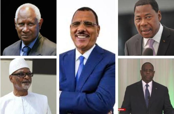 Présidents Africains: Mohamed Bazoum dans le cercle restreint d'anciens étudiants de l'Ucad président en exercice de leurs pays